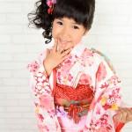 大阪の七五三写真撮影スタジオ・ハニーアンドクランチの7歳女の子和装のフォトギャラリーB113