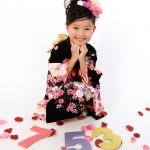 大阪の七五三写真撮影スタジオ・ハニーアンドクランチの7歳女の子和装のフォトギャラリーB114