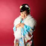 大阪の七五三写真撮影スタジオ・ハニーアンドクランチの7歳女の子和装のフォトギャラリーB117