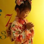 大阪の七五三写真撮影スタジオ・ハニーアンドクランチの7歳女の子和装のフォトギャラリーB120