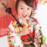 大阪の七五三写真撮影スタジオ・ハニーアンドクランチの7歳女の子和装のフォトギャラリーB122