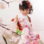 大阪の七五三写真撮影スタジオ・ハニーアンドクランチの7歳女の子和装のフォトギャラリーB123