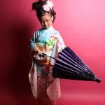 大阪の七五三写真撮影スタジオ・ハニーアンドクランチの7歳女の子和装のフォトギャラリーB125