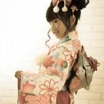 大阪の七五三写真撮影スタジオ・ハニーアンドクランチの7歳女の子和装のフォトギャラリーB128