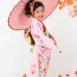 大阪の七五三写真撮影スタジオ・ハニーアンドクランチの7歳女の子和装のフォトギャラリーB130