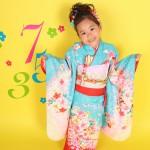 大阪の七五三写真撮影スタジオ・ハニーアンドクランチの7歳女の子和装のフォトギャラリーB132