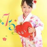 大阪の七五三写真撮影スタジオ・ハニーアンドクランチの7歳女の子和装のフォトギャラリーB133