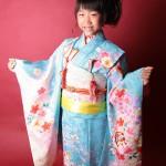 大阪の七五三写真撮影スタジオ・ハニーアンドクランチの7歳女の子和装のフォトギャラリーB134