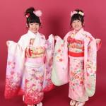 大阪の七五三写真撮影スタジオ・ハニーアンドクランチの7歳女の子和装のフォトギャラリーB135