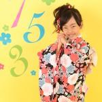 大阪の七五三写真撮影スタジオ・ハニーアンドクランチの7歳女の子和装のフォトギャラリーB138