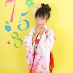 大阪の七五三写真撮影スタジオ・ハニーアンドクランチの7歳女の子和装のフォトギャラリーB139