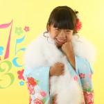 大阪の七五三写真撮影スタジオ・ハニーアンドクランチの7歳女の子和装のフォトギャラリーB140
