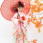 大阪の七五三写真撮影スタジオ・ハニーアンドクランチの7歳女の子和装のフォトギャラリーB141