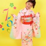 大阪の七五三写真撮影スタジオ・ハニーアンドクランチの7歳女の子和装のフォトギャラリーB142