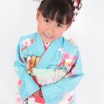 大阪の七五三写真撮影スタジオ・ハニーアンドクランチの7歳女の子和装のフォトギャラリーB143