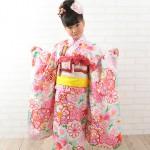 大阪の七五三写真撮影スタジオ・ハニーアンドクランチの7歳女の子和装のフォトギャラリーB148