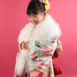 大阪の七五三写真撮影スタジオ・ハニーアンドクランチの7歳女の子和装のフォトギャラリーB149