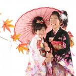 大阪の七五三写真撮影スタジオ・ハニーアンドクランチの7歳女の子和装のフォトギャラリーB151