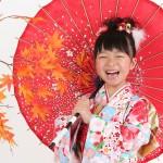 大阪の七五三写真撮影スタジオ・ハニーアンドクランチの7歳女の子和装のフォトギャラリーB153