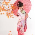 大阪の七五三写真撮影スタジオ・ハニーアンドクランチの7歳女の子和装のフォトギャラリーB154