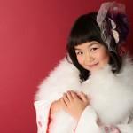 大阪の七五三写真撮影スタジオ・ハニーアンドクランチの7歳女の子和装のフォトギャラリーB156