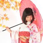 大阪の七五三写真撮影スタジオ・ハニーアンドクランチの7歳女の子和装のフォトギャラリーB157