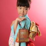 大阪の七五三写真撮影スタジオ・ハニーアンドクランチの7歳女の子和装のフォトギャラリーB161