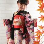 大阪の七五三写真撮影スタジオ・ハニーアンドクランチの7歳女の子和装のフォトギャラリーB163