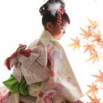 大阪の七五三写真撮影スタジオ・ハニーアンドクランチの7歳女の子和装のフォトギャラリーB164