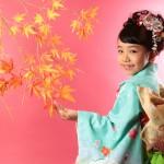 大阪の七五三写真撮影スタジオ・ハニーアンドクランチの7歳女の子和装のフォトギャラリーB165
