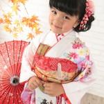 大阪の七五三写真撮影スタジオ・ハニーアンドクランチの7歳女の子和装のフォトギャラリーB167