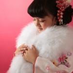 大阪の七五三写真撮影スタジオ・ハニーアンドクランチの7歳女の子和装のフォトギャラリーB168
