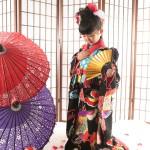 大阪の七五三写真撮影スタジオ・ハニーアンドクランチの7歳女の子和装のフォトギャラリーB170