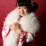 大阪の七五三写真撮影スタジオ・ハニーアンドクランチの7歳女の子和装のフォトギャラリーB171
