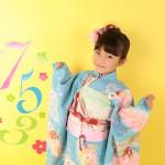 大阪の七五三写真撮影スタジオ・ハニーアンドクランチの7歳女の子和装のフォトギャラリーB172