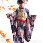大阪の七五三写真撮影スタジオ・ハニーアンドクランチの7歳女の子和装のフォトギャラリーB173