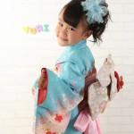 大阪の七五三写真撮影スタジオ・ハニーアンドクランチの7歳女の子和装のフォトギャラリーB175