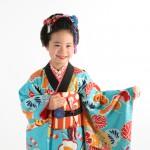 大阪の七五三写真撮影スタジオ・ハニーアンドクランチの7歳女の子和装のフォトギャラリーB177