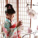 大阪の七五三写真撮影スタジオ・ハニーアンドクランチの7歳女の子和装のフォトギャラリーB178