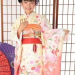 大阪の七五三写真撮影スタジオ・ハニーアンドクランチの7歳女の子和装のフォトギャラリーB179