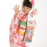 大阪の七五三写真撮影スタジオ・ハニーアンドクランチの7歳女の子和装のフォトギャラリーB184
