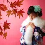 大阪の七五三写真撮影スタジオ・ハニーアンドクランチの7歳女の子和装のフォトギャラリーB185
