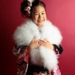 大阪の七五三写真撮影スタジオ・ハニーアンドクランチの7歳女の子和装のフォトギャラリーB191