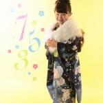 大阪の七五三写真撮影スタジオ・ハニーアンドクランチの7歳女の子和装のフォトギャラリーB193