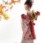大阪の七五三写真撮影スタジオ・ハニーアンドクランチの7歳女の子和装のフォトギャラリーB197