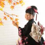 大阪の七五三写真撮影スタジオ・ハニーアンドクランチの7歳女の子和装のフォトギャラリーB198
