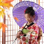 大阪の七五三写真撮影スタジオ・ハニーアンドクランチの7歳女の子和装のフォトギャラリーB199