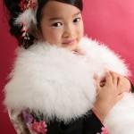 大阪の七五三写真撮影スタジオ・ハニーアンドクランチの7歳女の子和装のフォトギャラリーB201