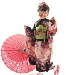 大阪の七五三写真撮影スタジオ・ハニーアンドクランチの7歳女の子和装のフォトギャラリーB202