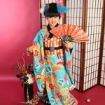 大阪の七五三写真撮影スタジオ・ハニーアンドクランチの7歳女の子和装のフォトギャラリーB203